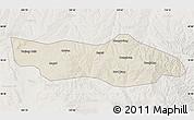 Shaded Relief Map of Dongsheng, lighten