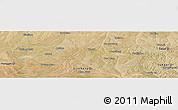 Satellite Panoramic Map of Dongsheng