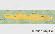 Savanna Style Panoramic Map of Dongsheng