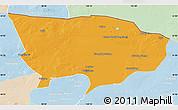 Political Map of Ejin Qi, lighten