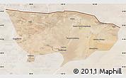 Satellite Map of Ejin Qi, lighten
