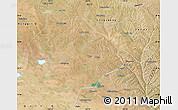 Satellite Map of Ejinhoro Qi