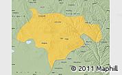 Savanna Style Map of Ejinhoro Qi
