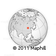 Outline Map of Ejinhoro Qi
