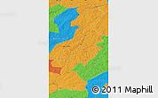 Political Map of Ergun Youqi