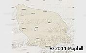 Shaded Relief Map of Guyang, lighten