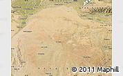 Satellite Map of Hanggin Qi