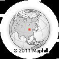 Outline Map of Hanggin Qi