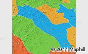 Political Map of Horqin Youyizhongqi