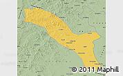 Savanna Style Map of Horqin Youyizhongqi