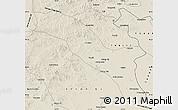 Shaded Relief Map of Horqin Youyizhongqi