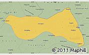 Savanna Style Map of Horqin Zuoyizhongqi