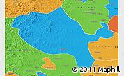 Political Map of Jalaid Qi
