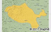 Savanna Style Map of Jalaid Qi