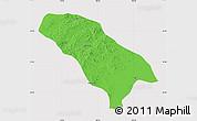 Political Map of Jarud Qi, cropped outside