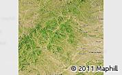 Satellite Map of Jarud Qi