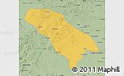 Savanna Style Map of Jarud Qi