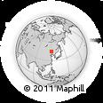 Outline Map of Jarud Qi