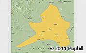 Savanna Style Map of Kailu