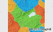 Political Map of Liangcheng