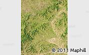 Satellite Map of Linxi