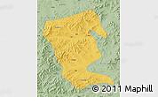 Savanna Style Map of Linxi