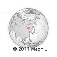 Outline Map of Manzhouli Shi