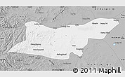 Gray Map of Ongniud Qi