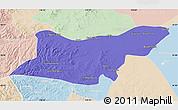 Political Map of Ongniud Qi, lighten