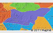 Political Map of Ongniud Qi