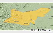Savanna Style Map of Ongniud Qi
