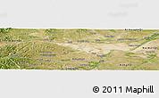 Satellite Panoramic Map of Ongniud Qi