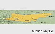 Savanna Style Panoramic Map of Ongniud Qi