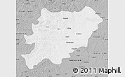 Gray Map of Oroqen Zizhiqi