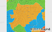 Political Map of Oroqen Zizhiqi