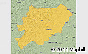 Savanna Style Map of Oroqen Zizhiqi