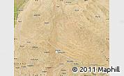Satellite Map of Otog Qianqi