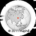 Outline Map of Otog Qianqi
