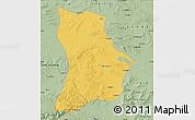 Savanna Style Map of Qahar Youyi Houqi