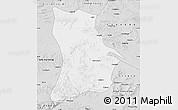 Silver Style Map of Qahar Youyi Houqi