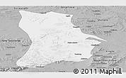 Gray Panoramic Map of Qahar Youyi Houqi