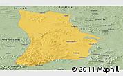 Savanna Style Panoramic Map of Qahar Youyi Houqi