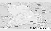 Silver Style Panoramic Map of Qahar Youyi Houqi