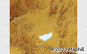 Physical Map of Qahar Youyi Qianqi