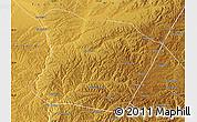 Physical Map of Qingshuihe