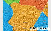 Political Map of Qingshuihe