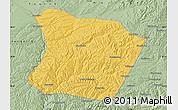 Savanna Style Map of Qingshuihe