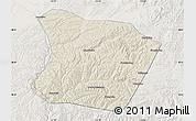 Shaded Relief Map of Qingshuihe, lighten