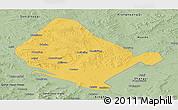 Savanna Style Panoramic Map of Shangdu