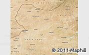 Satellite Map of Sonid Zuoqi
